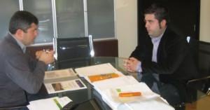 Reunión co Director Xeral de Xuventude