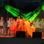 Actuación do Grupo Scout 19 Ferrol