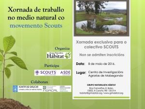 Jornada Scouts Grupo Naturalista Hábitat