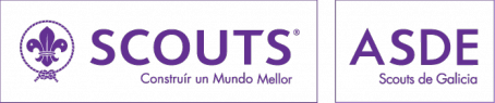 Logo PNG Scouts de Galicia Blanco
